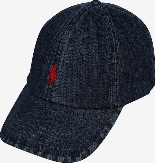 POLO RALPH LAUREN Cap 'CLS SPRT' in blue denim, Produktansicht