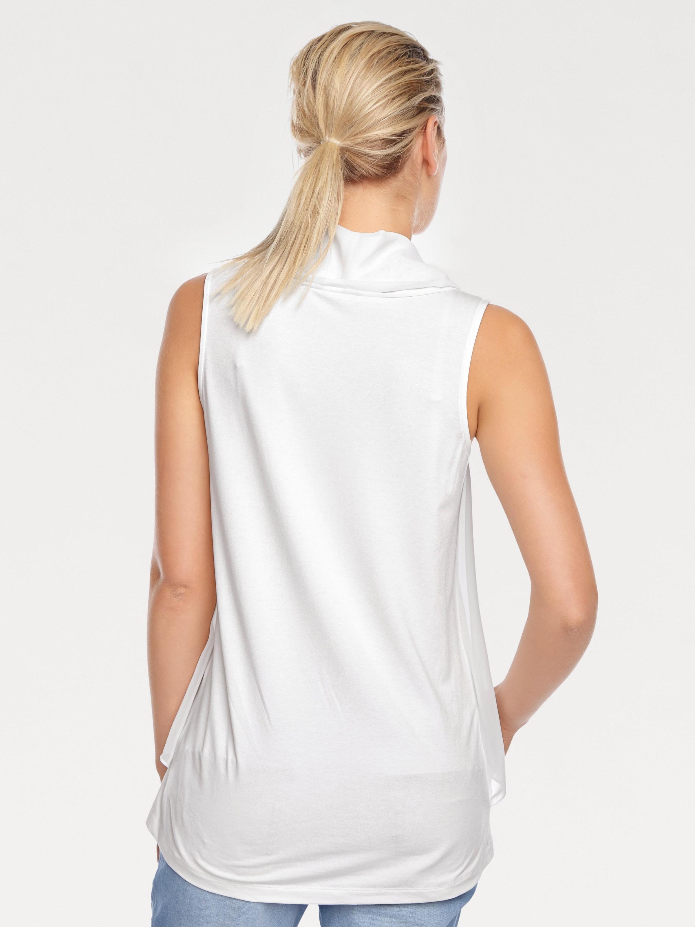 B.C. Best Connections by heine Shirttop mit Chiffon Günstig Kaufen Verkauf Günstig Kaufen Besten Verkauf Finish Günstig Online 9OqTy