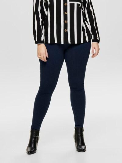 ONLY Carmakoma Jeans 'Storm' in kobaltblau, Modelansicht