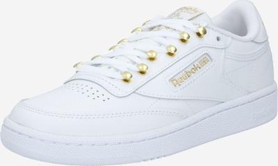 Reebok Classic Sneakers laag 'CLUB C 85' in de kleur Goud / Wit, Productweergave