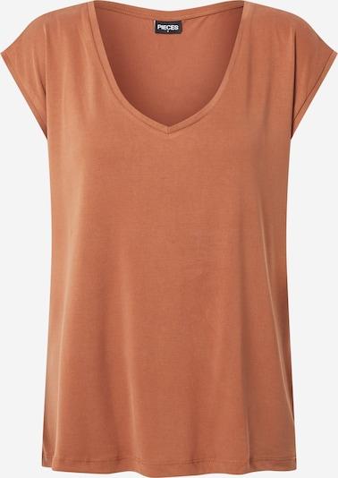PIECES T-Shirt 'Kamala' in braun, Produktansicht