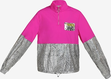 myMo ATHLSR Athletic Jacket in Pink