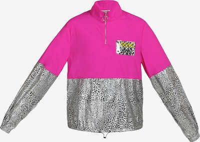 myMo ATHLSR Jacke in pink / schwarz / weiß, Produktansicht