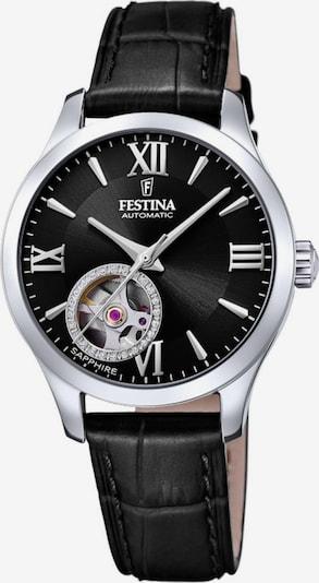 FESTINA Uhr 'F20490/3' in schwarz / silber, Produktansicht