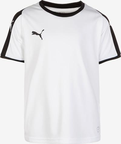 PUMA Fußballtrikot 'Liga' in schwarz / weiß, Produktansicht
