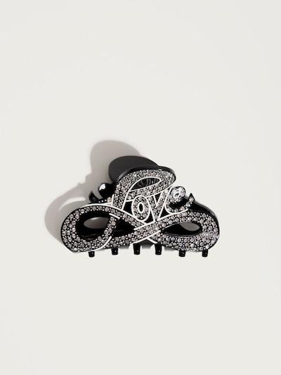 Accesorii pentru păr 'Love' Pico for EDITED pe negru / argintiu, Vizualizare produs