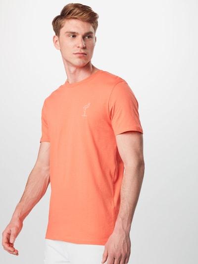 SELECTED HOMME Shirt in de kleur Koraal: Vooraanzicht