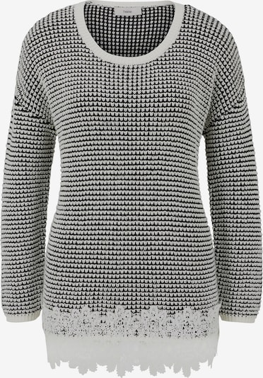 heine Sweter w kolorze czarny / offwhitem: Widok z przodu