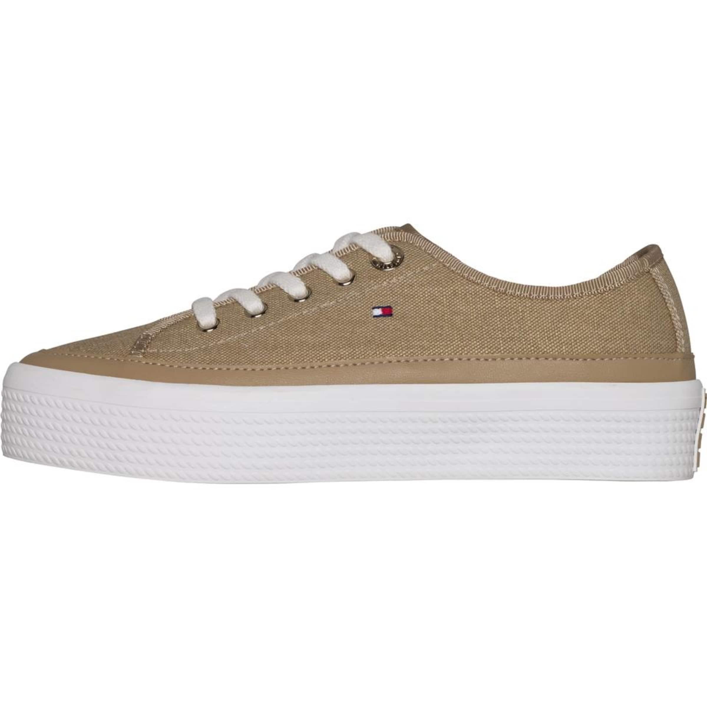 TOMMY HILFIGER Sneaker,SAND Verschleißfeste billige Schuhe
