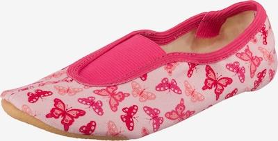 BECK Mājas apavi 'Papillon' rozīgs / pasteļrozā, Preces skats