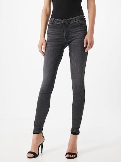 GUESS Jeans 'Power' in de kleur Grey denim, Modelweergave