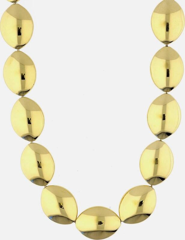 ESPRIT Extravagante Halskette ohne Anhänger ESNL12950B400