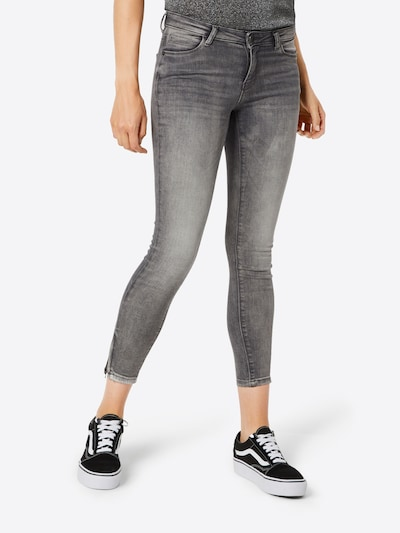 Noisy may Jeans in de kleur Grey denim, Modelweergave