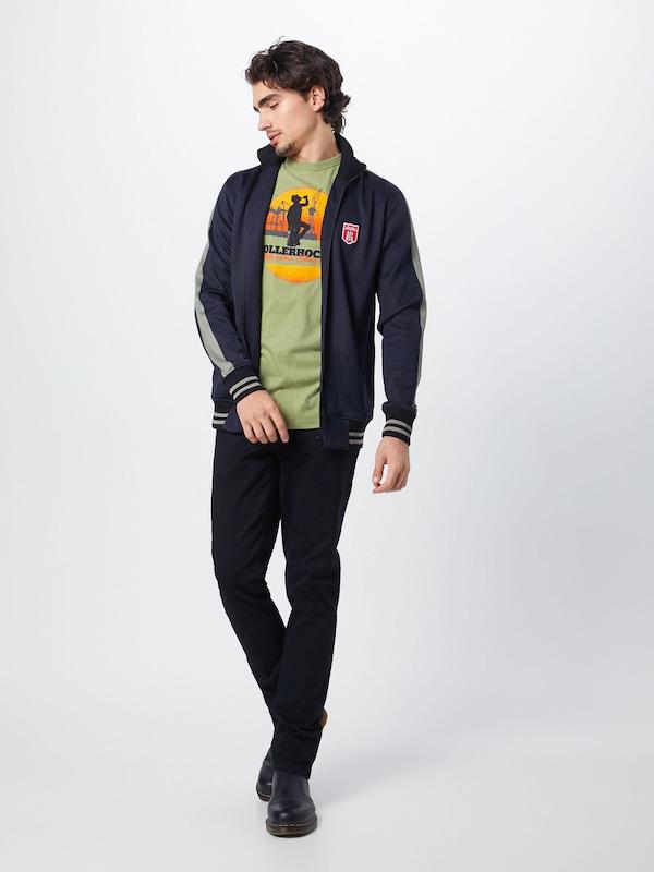 Chiné T Derbe En Vert shirt 'pollerhocken' fgyb76