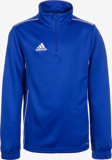ADIDAS PERFORMANCE Trainingsshirt 'Core 18' in royalblau / weiß, Produktansicht