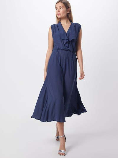 sessun Kleid 'Mira' in blue denim / dunkelblau, Modelansicht