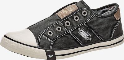 Sneaker low MUSTANG pe negru, Vizualizare produs