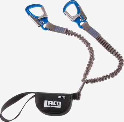 LACD Klettersteigset 'Via Ferrata Pro Evo 2.0' in blau / grau / schwarz, Produktansicht