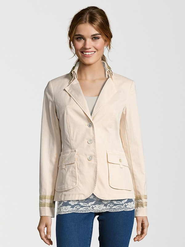 blonde no 8 blazer 39 monaco gold 39 in pink about you. Black Bedroom Furniture Sets. Home Design Ideas