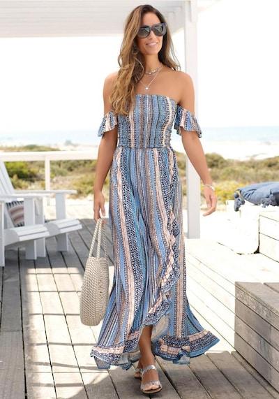 LASCANA Sommerkleid in mischfarben, Modelansicht