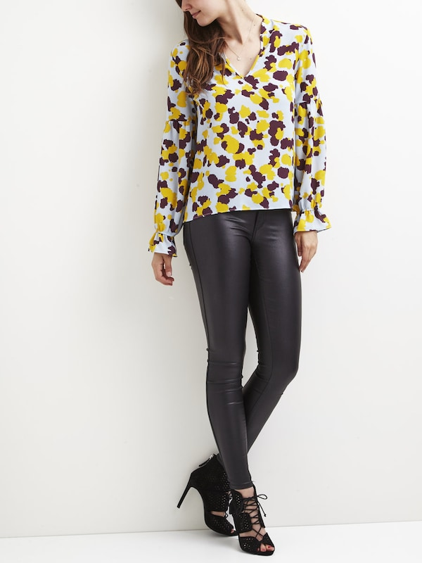 Vila Patterned Shirt Vithes Top