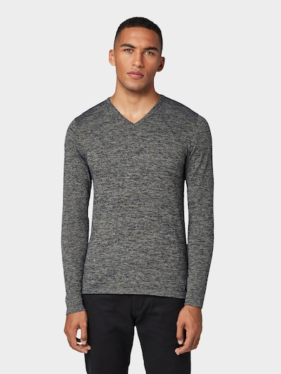 TOM TAILOR Sweater in grau: Frontalansicht