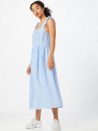 Envii Kleid 'OUTHOUSE' in hellblau, Modelansicht