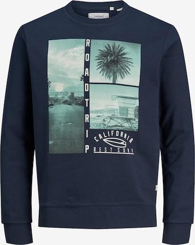 Produkt Sweatshirt 'Fotoprint' in blau, Produktansicht