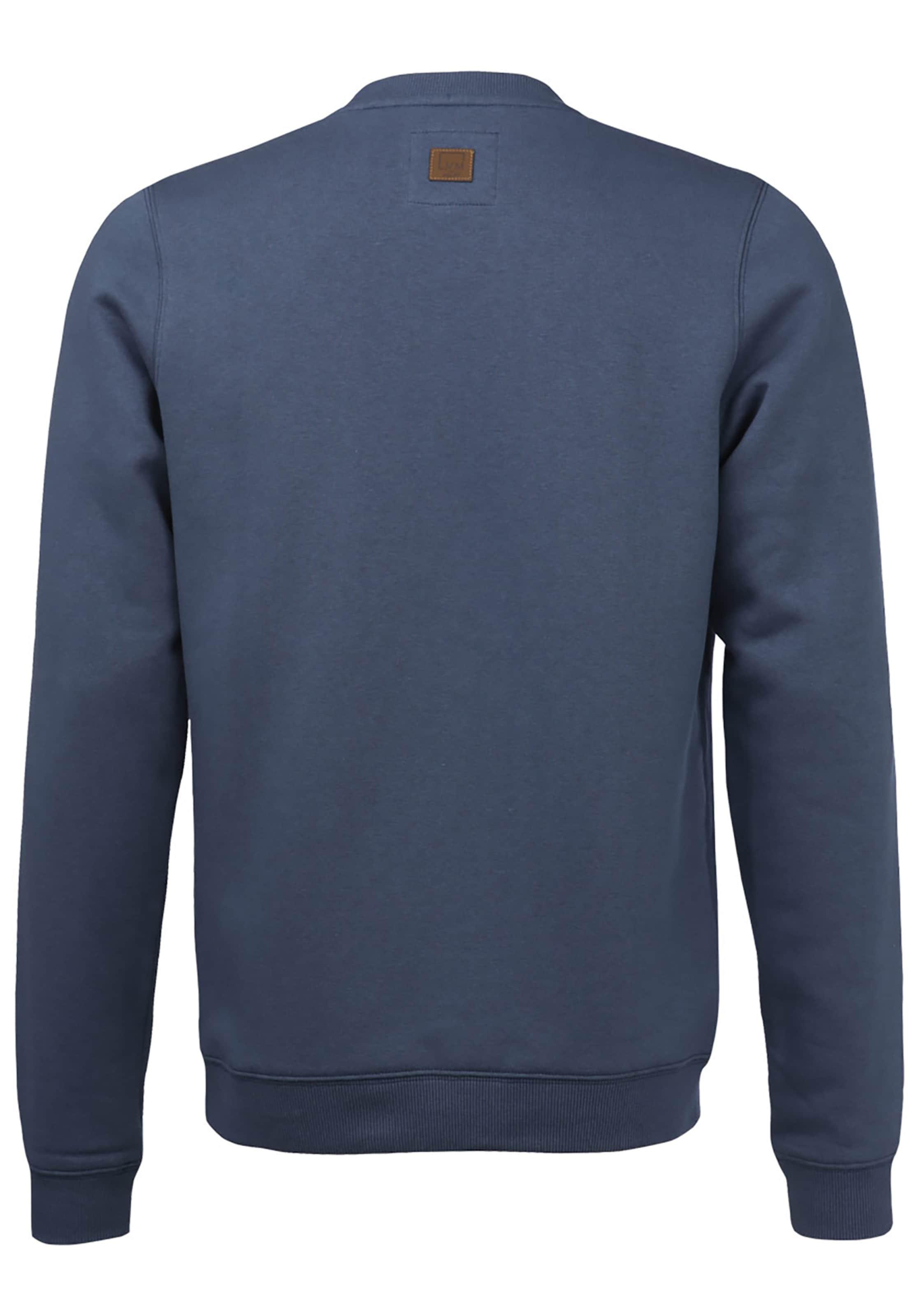 Sweatshirt Lakeville Blau Mountain 'milo' In mvw80ONn