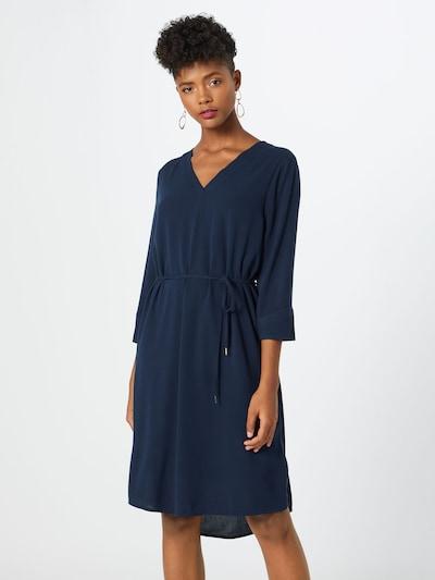OBJECT Kleid in nachtblau, Modelansicht