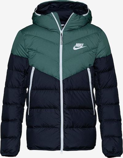 Nike Sportswear Zimní bunda - tmavě modrá / zelená, Produkt