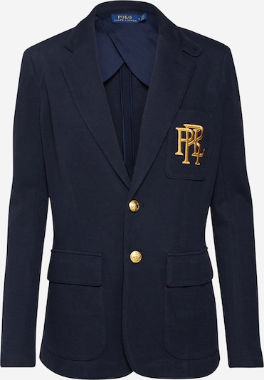 POLO RALPH LAUREN Strickblazer in navy: Frontalansicht