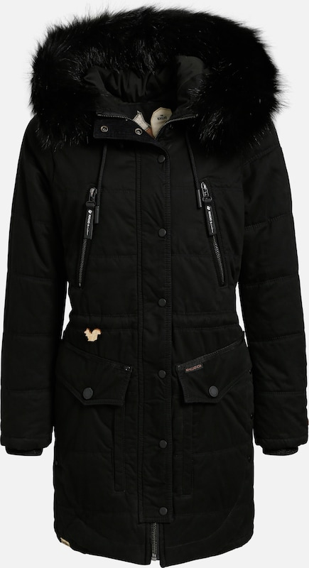 Khujo Mantel Mantel Mantel 'DIANA' in schwarz  Großer Rabatt c5ae0b