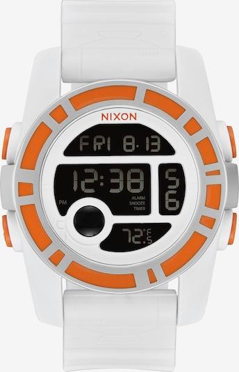 Nixon Uhr in orange / weiß, Produktansicht