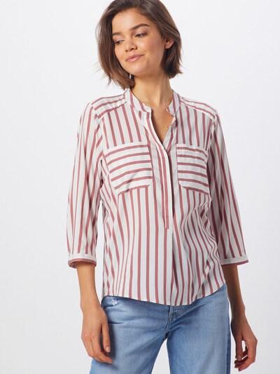 VERO MODA Bluse 'Vmerika' in rot / weiß, Modelansicht