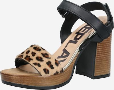 REPLAY Sandale in braun / schwarz, Produktansicht