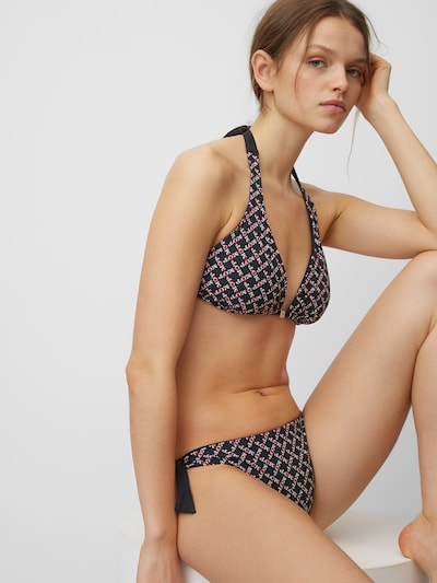Marc O'Polo Triangel-Bikini ' Printed ' in blau, Modelansicht