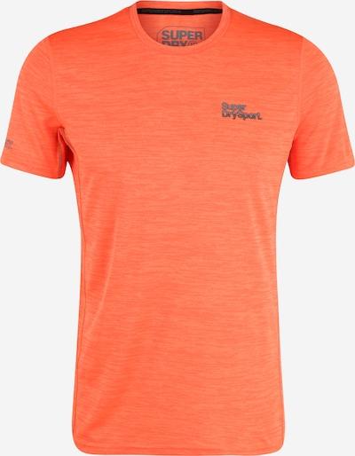 Superdry Functioneel shirt in de kleur Oranje gemêleerd, Productweergave