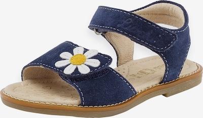 LURCHI Sandale 'Zenzi' in navy / gelb / weiß, Produktansicht