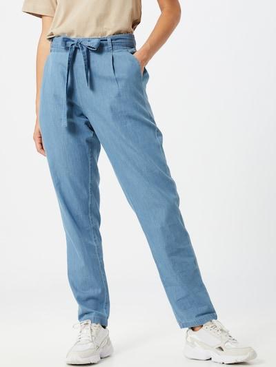 MOSS COPENHAGEN Hose 'Popina Lyanna' in blau, Modelansicht