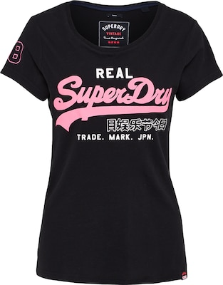 Superdry T-Shirt 'VINTAGE LOGO DUO ENTRY TEE'