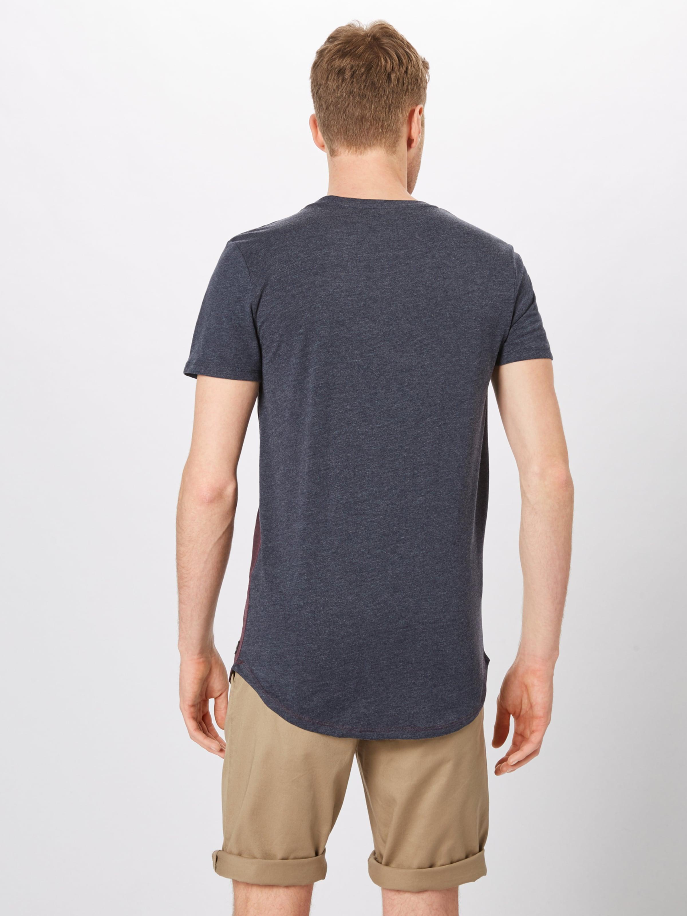 In Denim BlaumeliertBurgunder Tailor shirt Tom T tdxshQrC