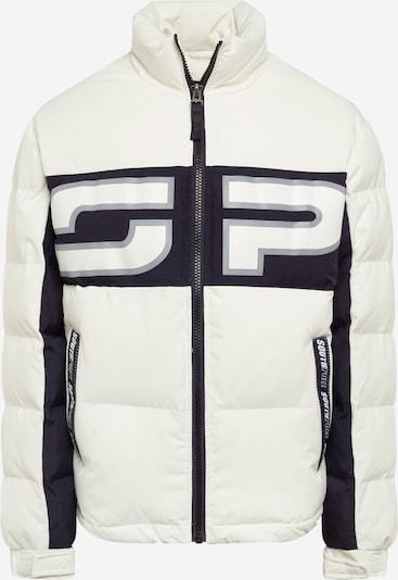SOUTHPOLE Winterjas in de kleur Zwart / Wit, Productweergave