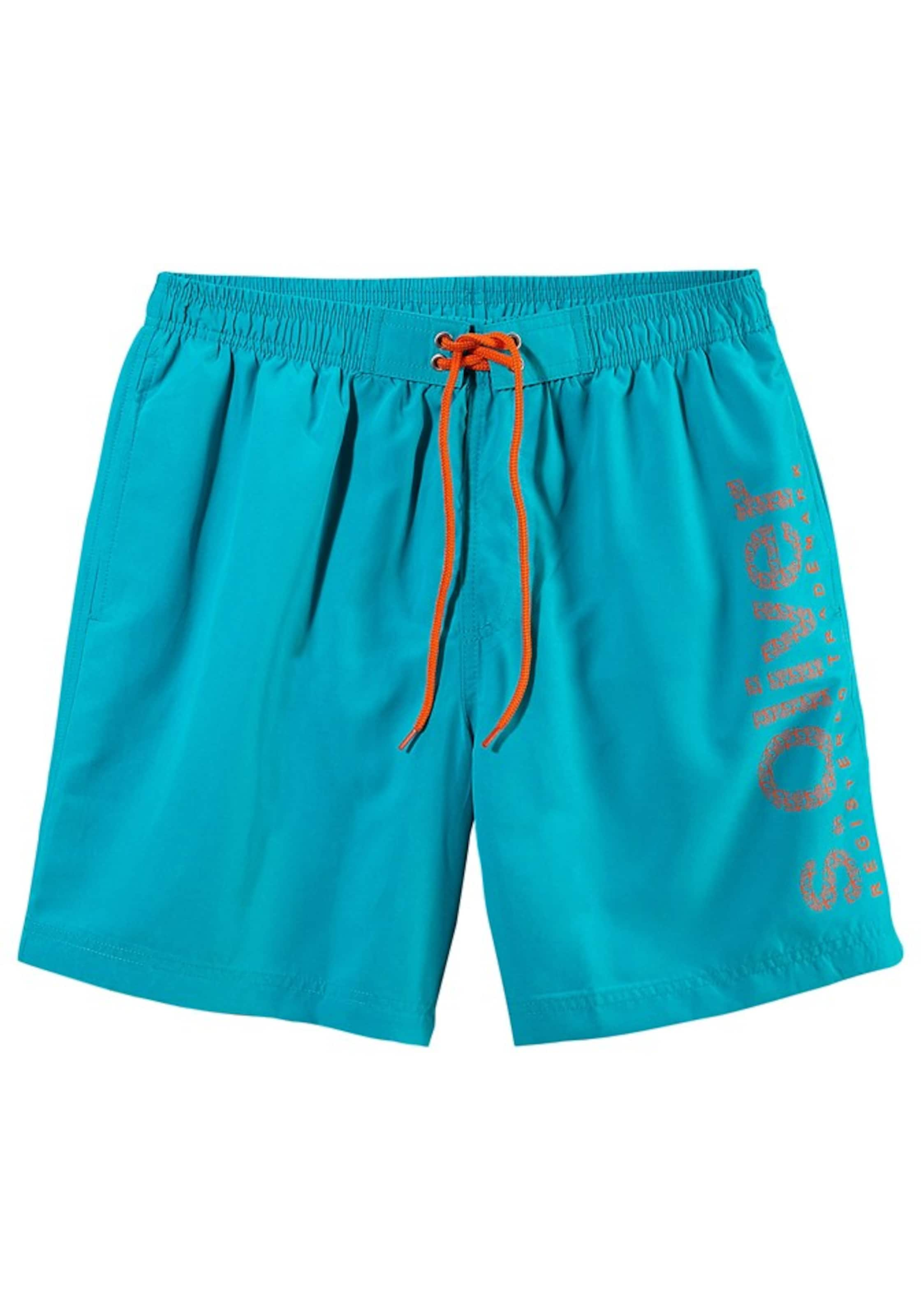 En De Bain Red Shorts S oliver Aqua Label XiPkuZ