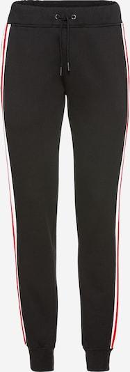 Urban Classics Hlače | rdeča / črna / bela barva, Prikaz izdelka
