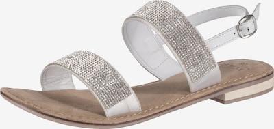 SPM Sandale 'Caring' in weiß, Produktansicht
