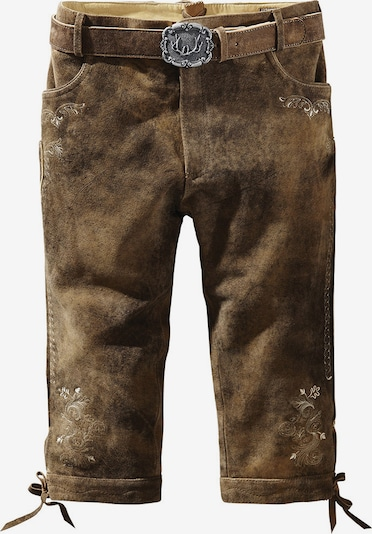 STOCKERPOINT Lederhose in brokat, Produktansicht