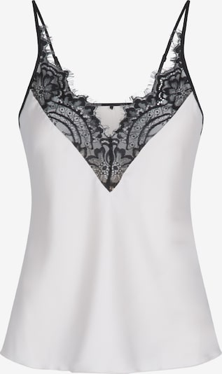 LingaDore Top in schwarz / weiß, Produktansicht