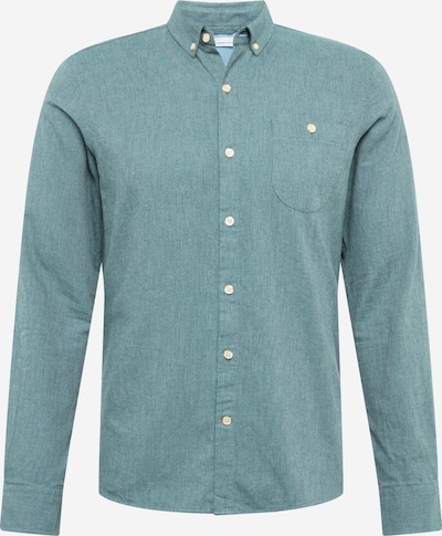 KnowledgeCotton Apparel Shirt in turquoise, Item view