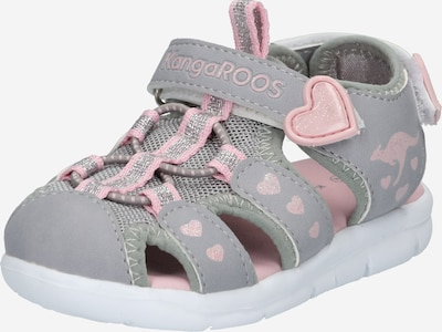 KangaROOS Sandales 'K-Mini' en gris / rose, Vue avec produit